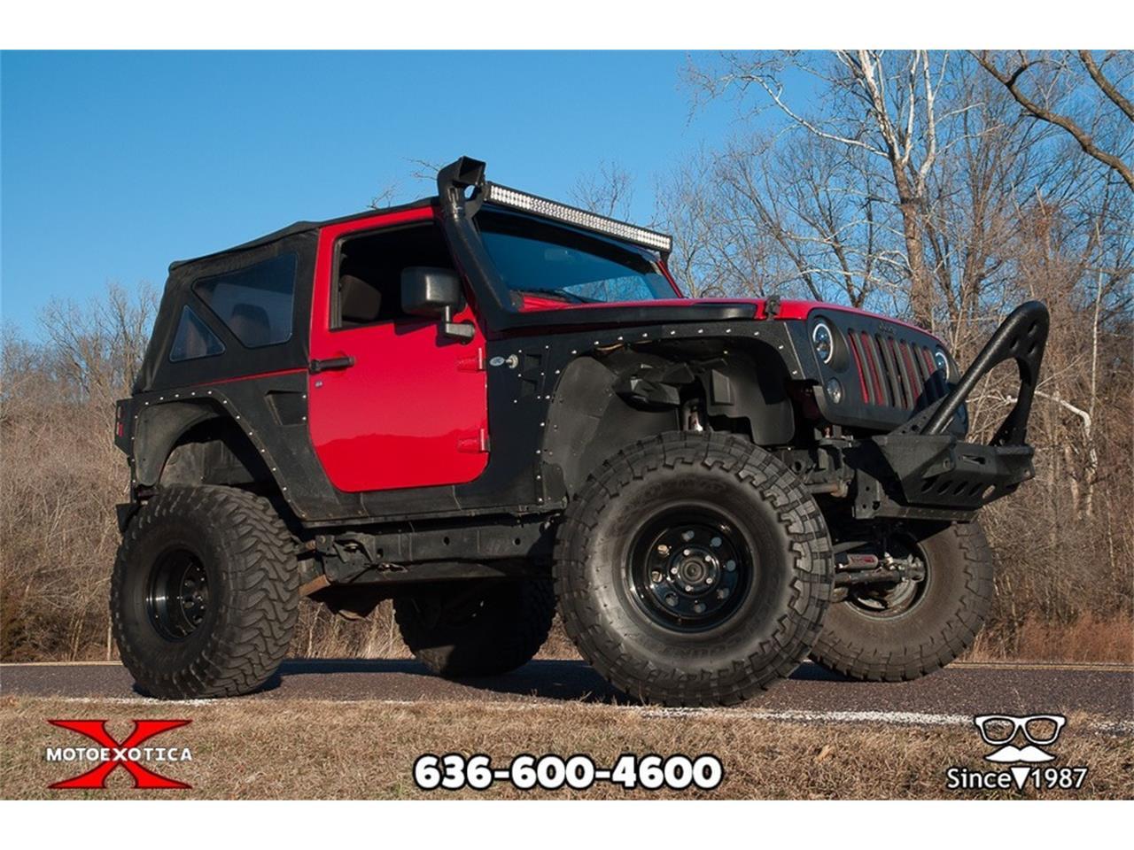 2014 Jeep Wrangler (CC-1219679) for sale in St. Louis, Missouri