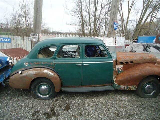 1940 Pontiac 4-Dr Sedan (CC-1219935) for sale in Jackson, Michigan
