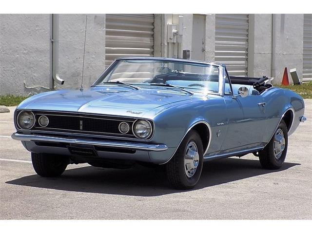 1967 Chevrolet Camaro (CC-1221078) for sale in POMPANO BEACH, Florida