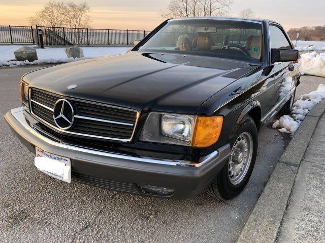 1982 Mercedes-Benz 380SEC (CC-1220119) for sale in Hanover, Massachusetts