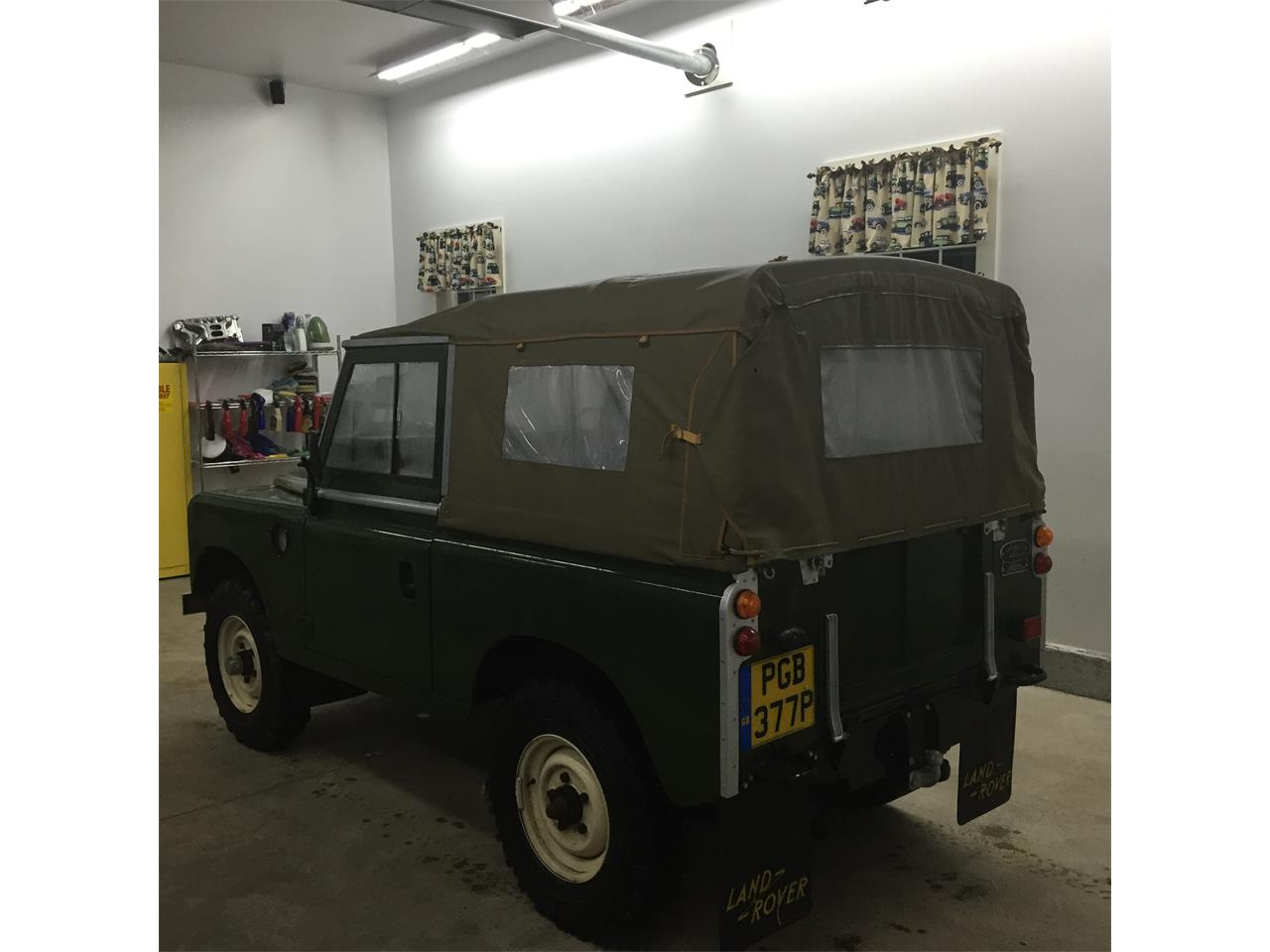 1976 Land Rover Series II 88 (CC-1220014) for sale in Alton, New Hampshire