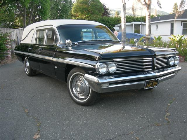 1962 Pontiac Hearse (CC-1220151) for sale in Novato, California