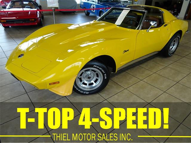 1973 Chevrolet Corvette (CC-1221565) for sale in De Witt, Iowa