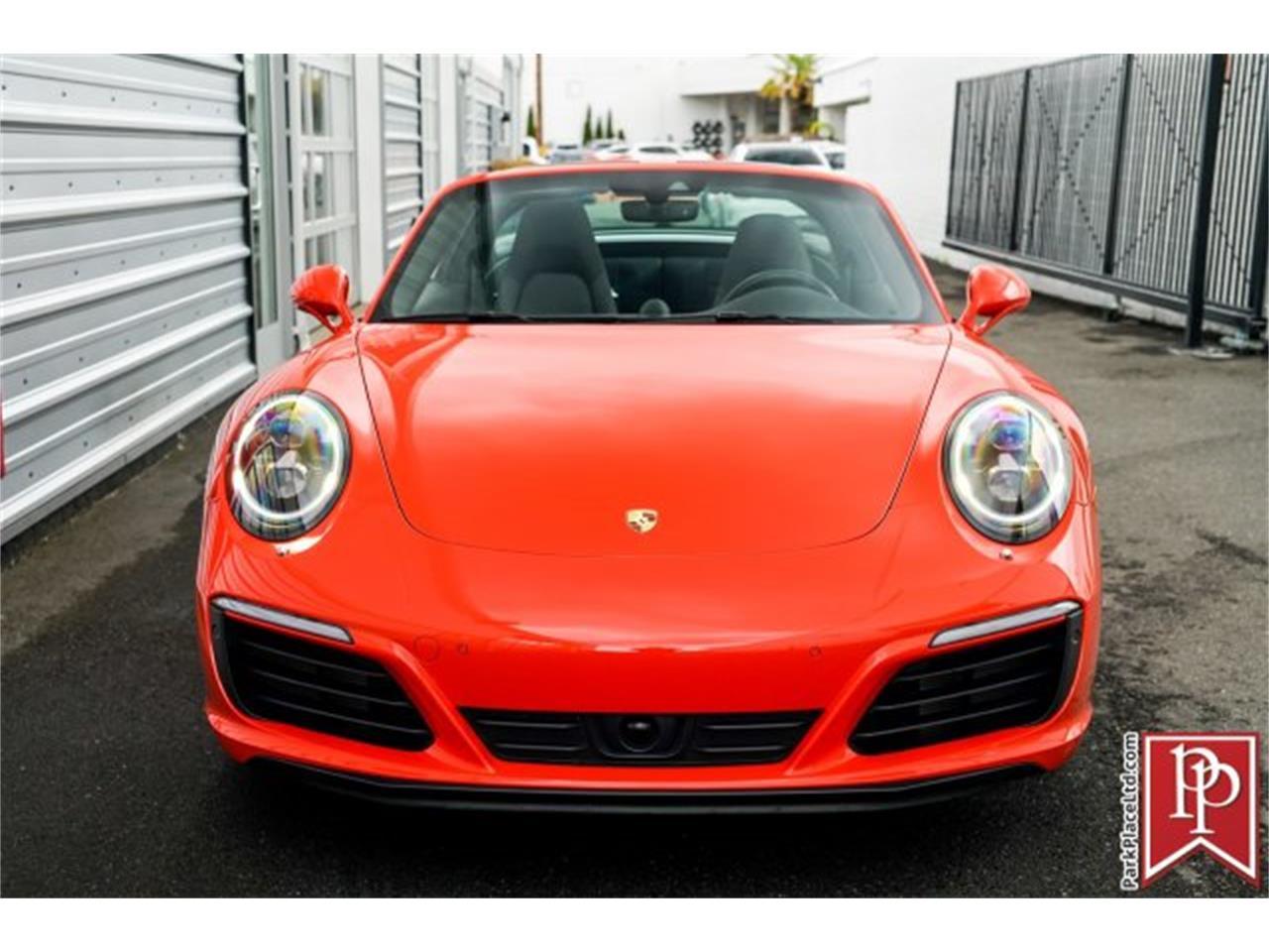 2017 Porsche 911 (CC-1221668) for sale in Bellevue, Washington