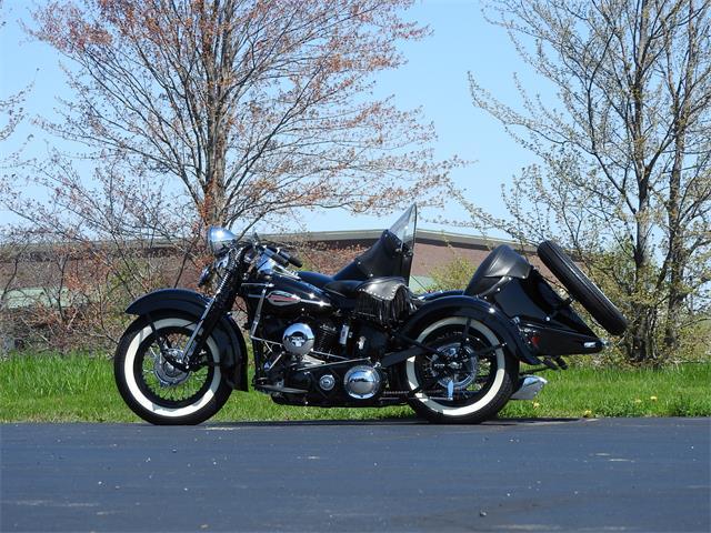 1942 Harley-Davidson Model U and Side Car (CC-1221902) for sale in Auburn Hills, Michigan