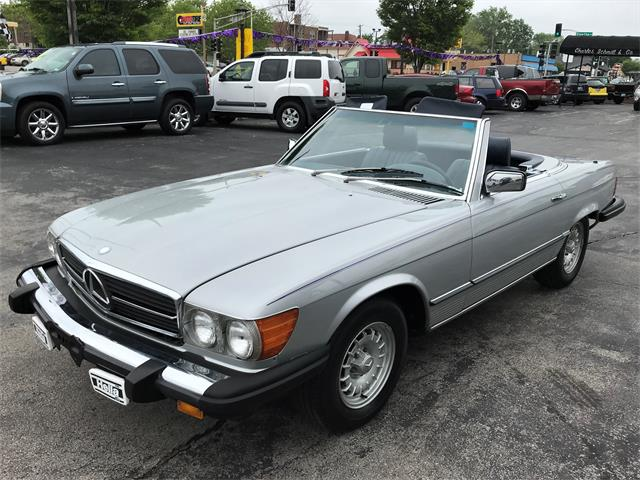 1985 Mercedes-Benz 380SL (CC-1222016) for sale in St. Louis, Missouri