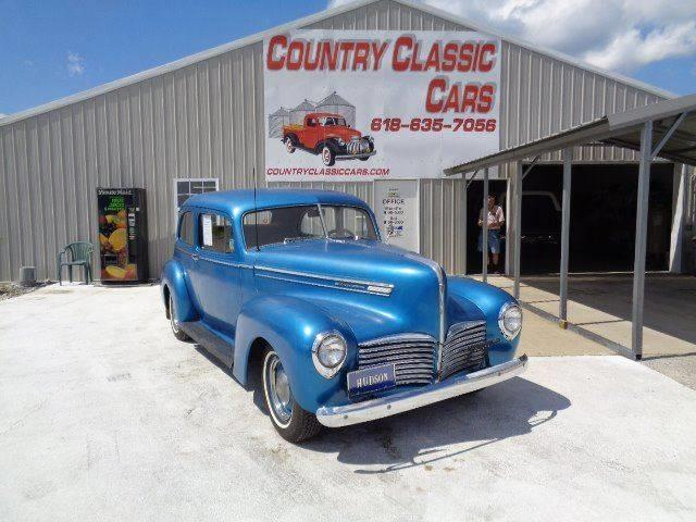 1941 Hudson Super 6 (CC-1220212) for sale in Staunton, Illinois