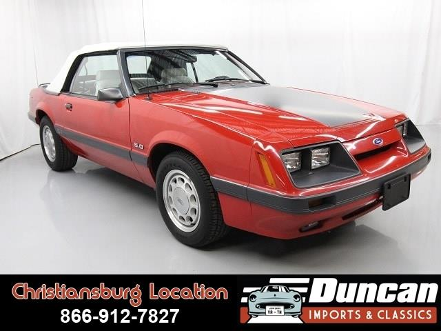 1986 Ford Mustang (CC-1222222) for sale in Christiansburg, Virginia