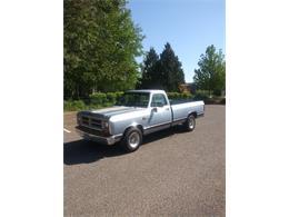 1989 Dodge D100 (CC-1222925) for sale in Salem, Oregon