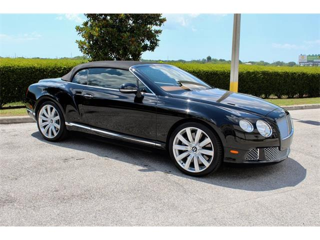 2012 Bentley Continental GTC (CC-1220294) for sale in Sarasota, Florida