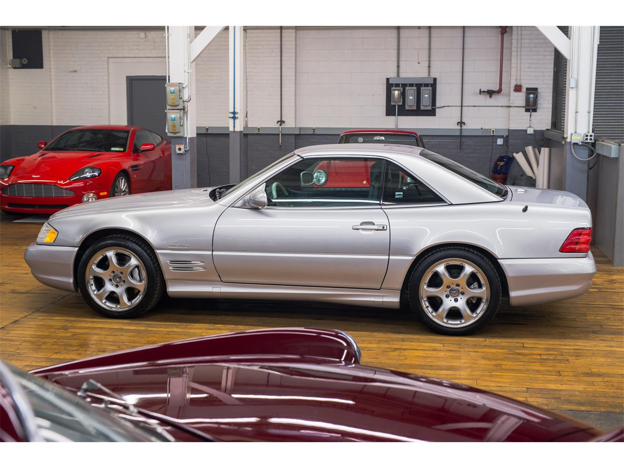 2002 Mercedes-Benz SL500 (CC-1223447) for sale in Bridgeport, Connecticut