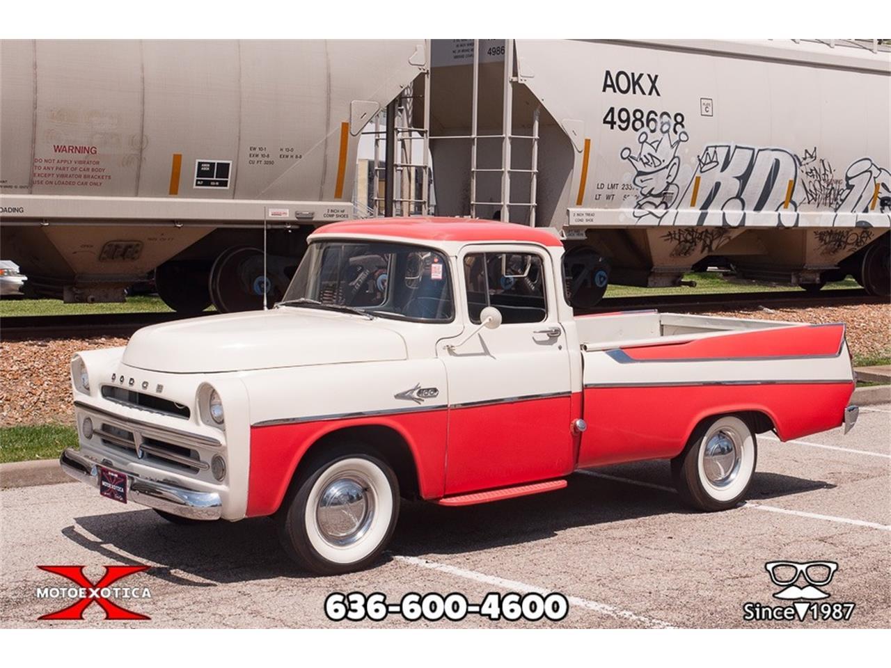 1957 Dodge D100 (CC-1223508) for sale in St. Louis, Missouri