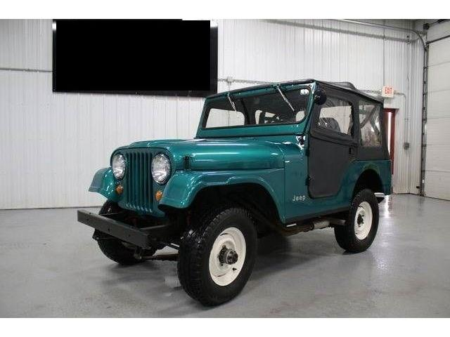 1968 Jeep CJ6 (CC-1223716) for sale in Cadillac, Michigan
