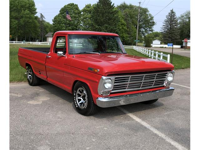 1968 Ford F100 (CC-1223776) for sale in Maple Lake, Minnesota