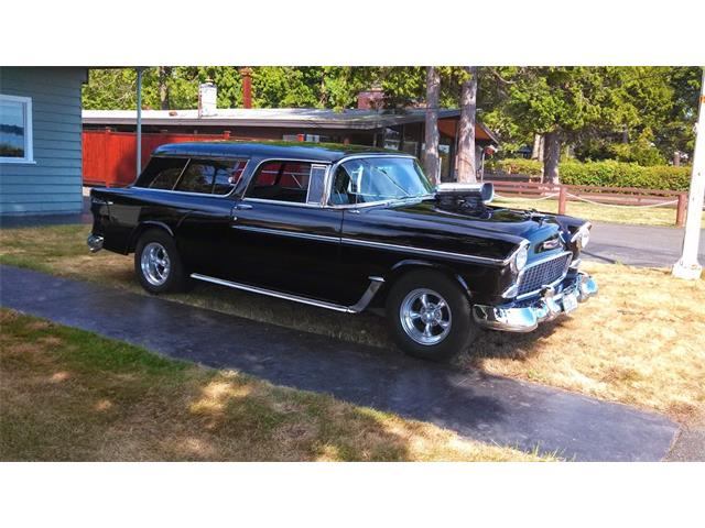 1955 Chevrolet Bel Air Nomad (CC-1226049) for sale in Bellingham, Washington
