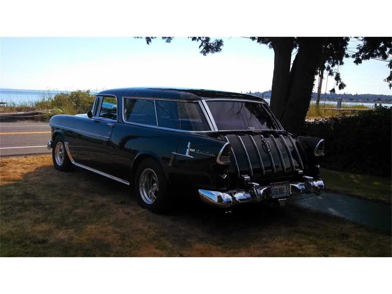 1955 Chevrolet Bel Air Nomad (CC-1226049) for sale in Bellingham, Washington
