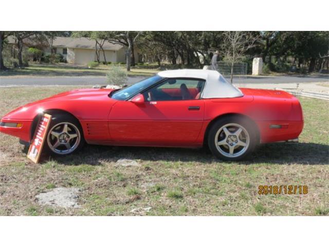 1994 Chevrolet Corvette (CC-1226255) for sale in Cadillac, Michigan