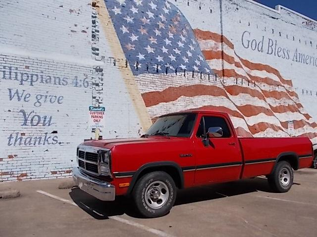 1993 Dodge 1/2-Ton Pickup (CC-1226634) for sale in Skiatook, Oklahoma