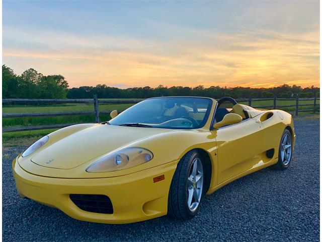 2003 Ferrari 360 Spider (CC-1226728) for sale in Colts Neck, New Jersey