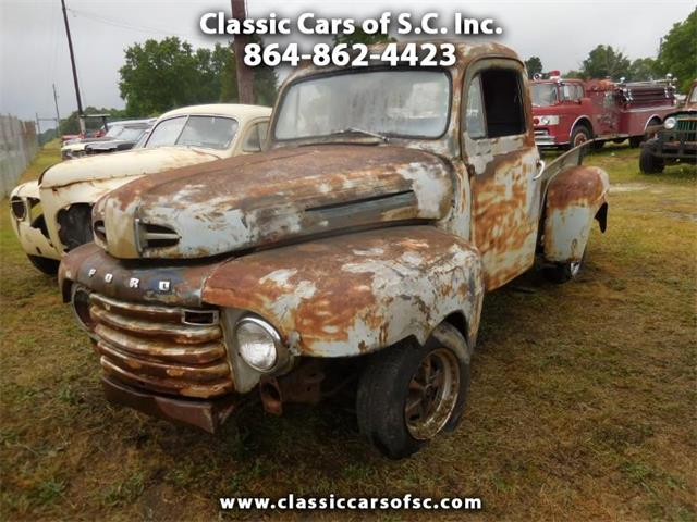 1949 Ford F100 (CC-1226791) for sale in Gray Court, South Carolina