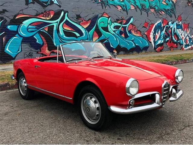 1961 Alfa Romeo Giulietta Spider (CC-1220070) for sale in Los Angeles, California
