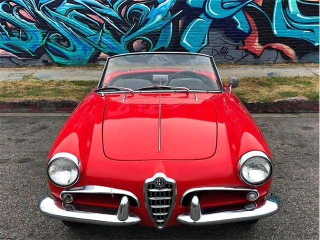 1961 Alfa Romeo Giulietta Spider (CC-1220070) for sale in Los Angeles, California
