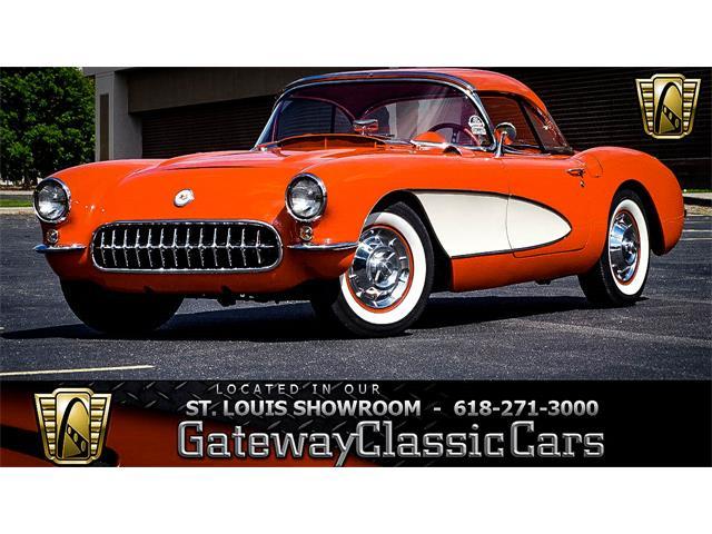 1957 Chevrolet Corvette (CC-1227522) for sale in O'Fallon, Illinois