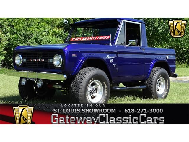 1967 Ford Bronco (CC-1227526) for sale in O'Fallon, Illinois