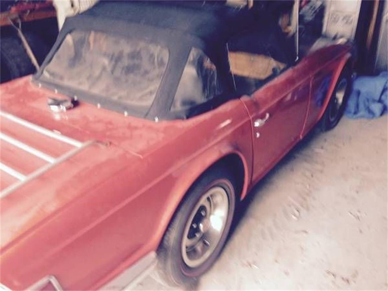 1972 Triumph TR6 (CC-1228244) for sale in Cadillac, Michigan