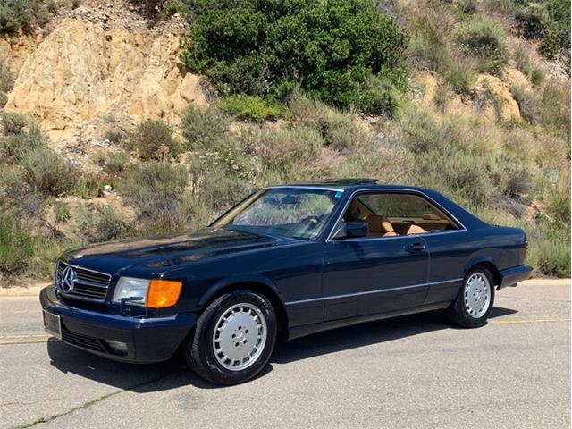 1987 Mercedes-Benz 560SEC (CC-1220867) for sale in San Diego, California