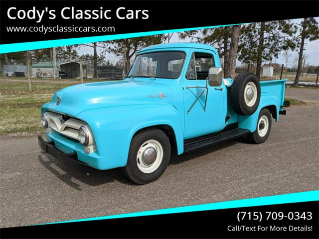 1955 Ford F250 (CC-1220887) for sale in Stanley, Wisconsin