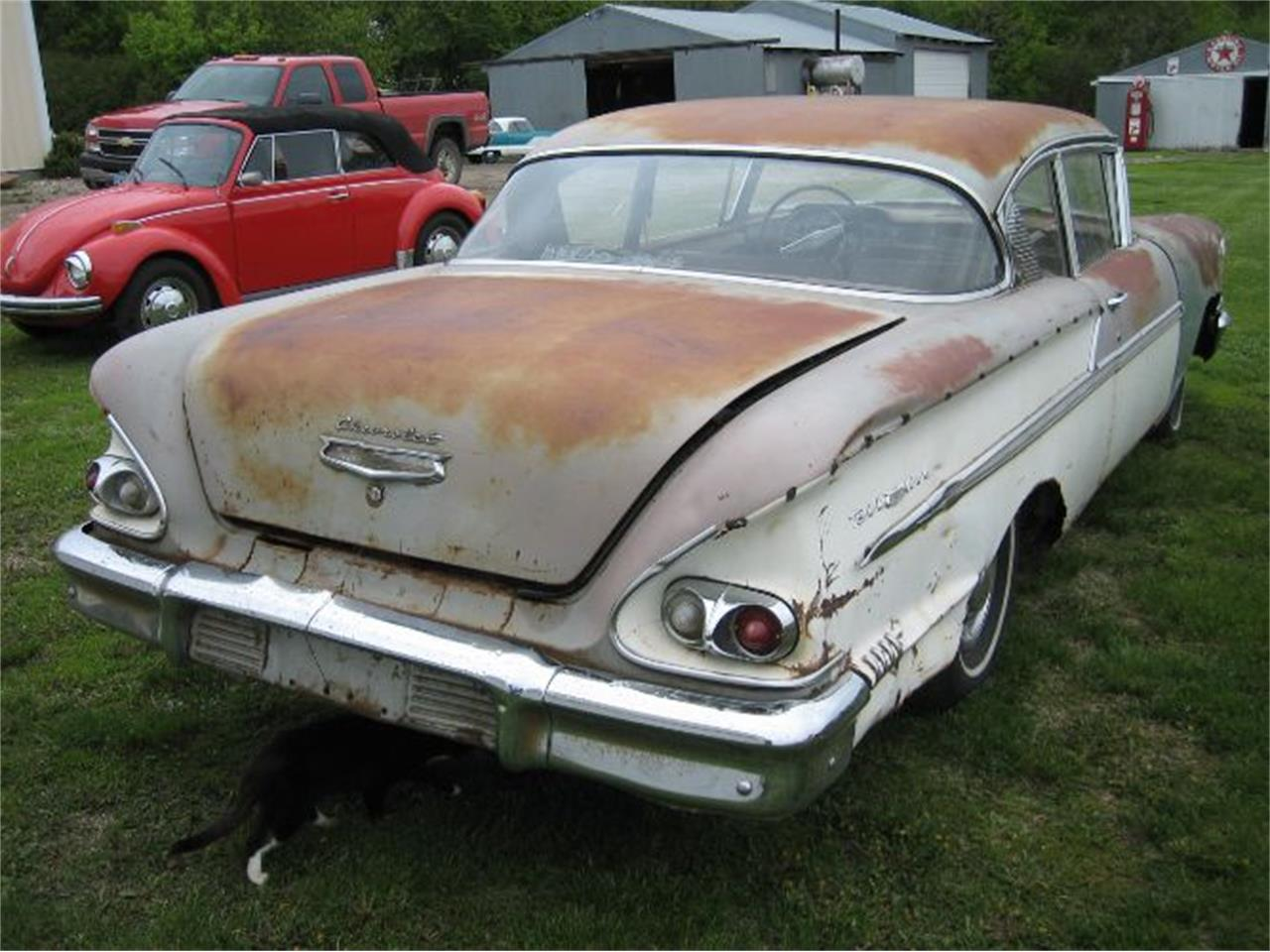 1958 Chevrolet Bel Air (CC-1220908) for sale in Cadillac, Michigan