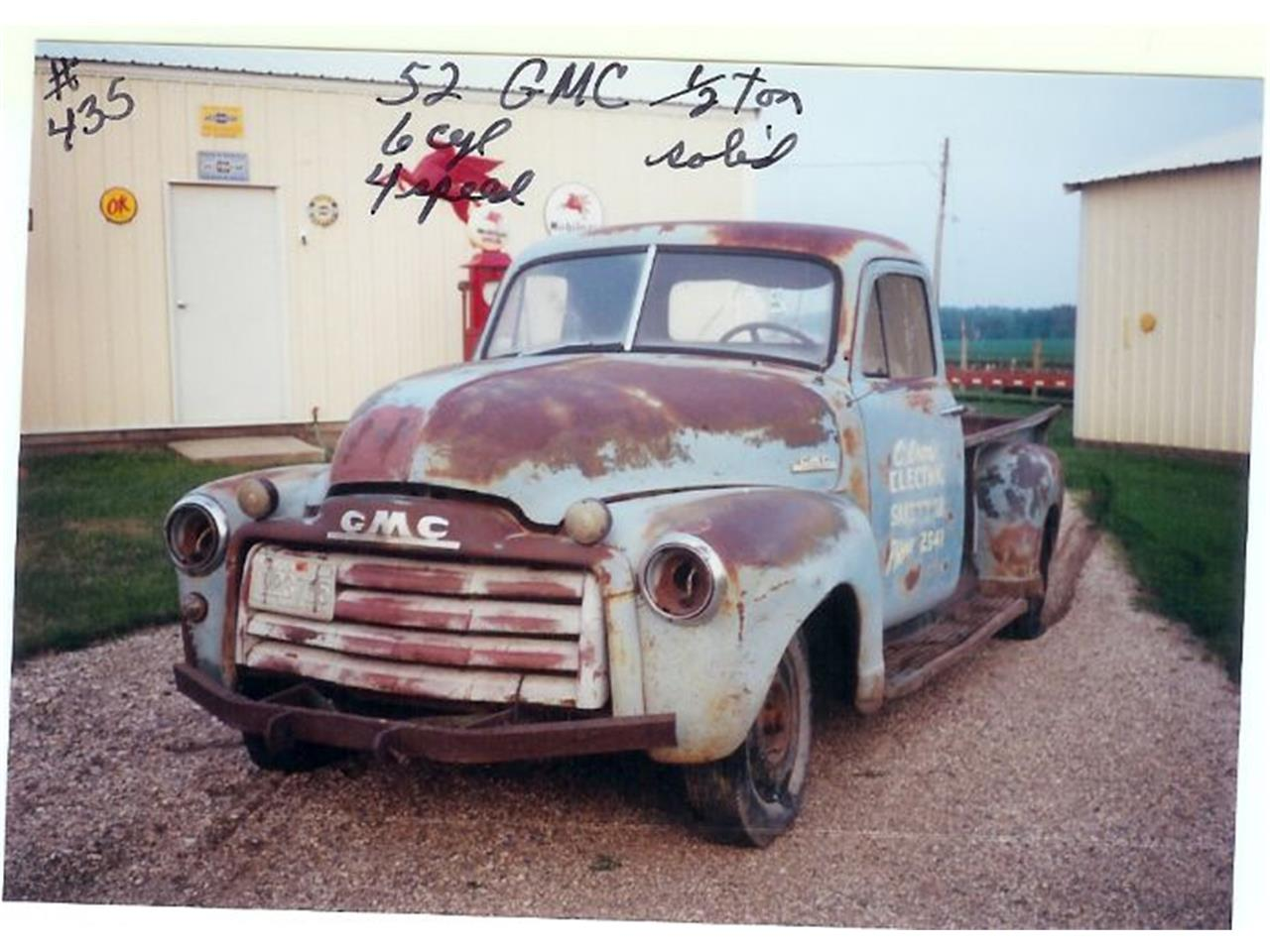 1952 GMC Pickup (CC-1220970) for sale in Cadillac, Michigan