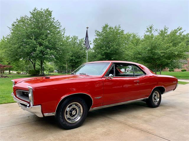 1966 Pontiac GTO (CC-1229975) for sale in NORTH ROYALTON, Ohio