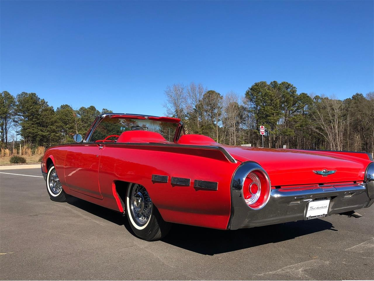 1962 Ford Thunderbird Sports Roadster (CC-1231121) for sale in Schertz, Texas