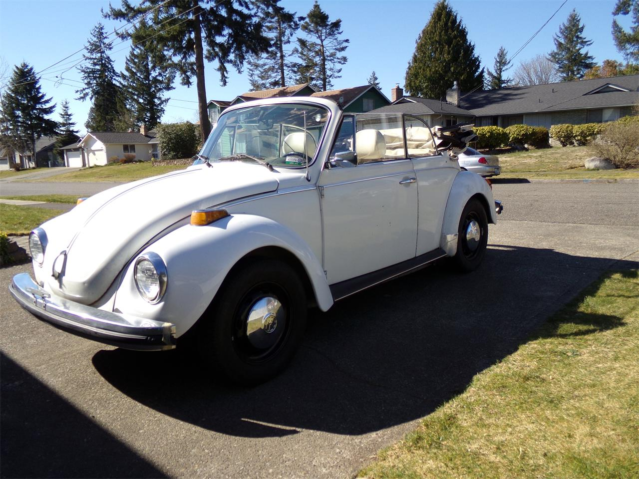 1977 Volkswagen Beetle (CC-1231306) for sale in Auburn, Washington