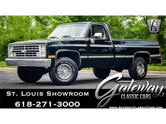 1987 Chevrolet K-10 (CC-1230138) for sale in O'Fallon, Illinois