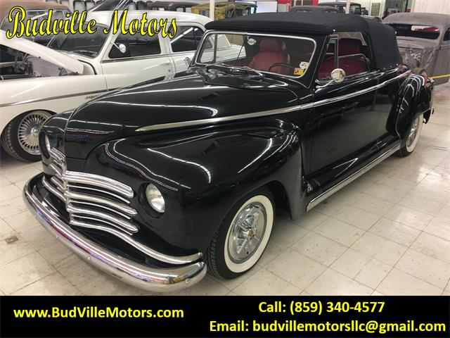 1948 Plymouth Convertible (CC-1231397) for sale in Paris, Kentucky
