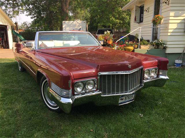 1970 Cadillac Coupe DeVille (CC-1231714) for sale in Fort Collins, Colorado