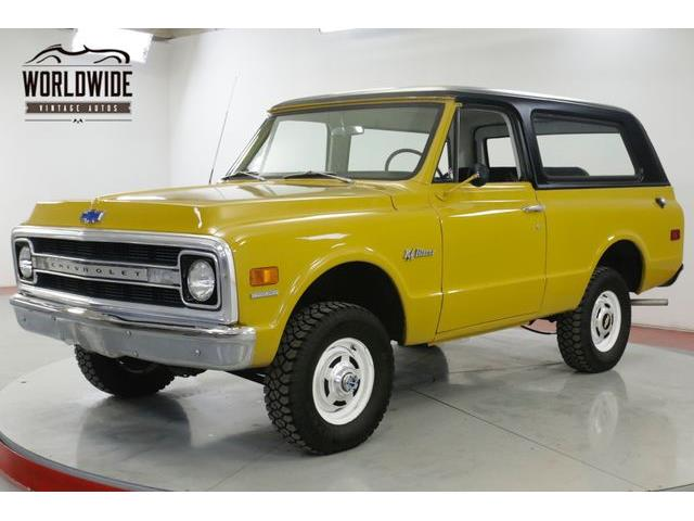 1970 Chevrolet Blazer (CC-1231757) for sale in Denver , Colorado