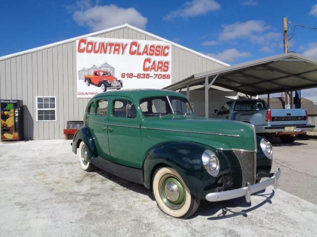 1940 Ford 4-Dr Sedan (CC-1232504) for sale in Staunton, Illinois