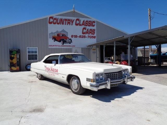 1973 Cadillac Eldorado (CC-1232513) for sale in Staunton, Illinois