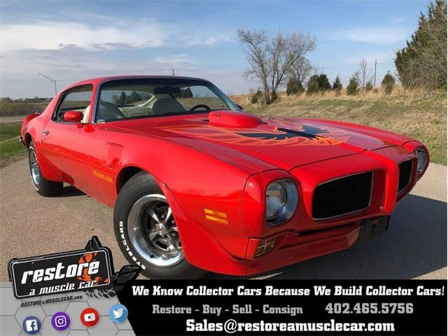 1973 Pontiac Firebird Trans Am (CC-1230276) for sale in Lincoln, Nebraska