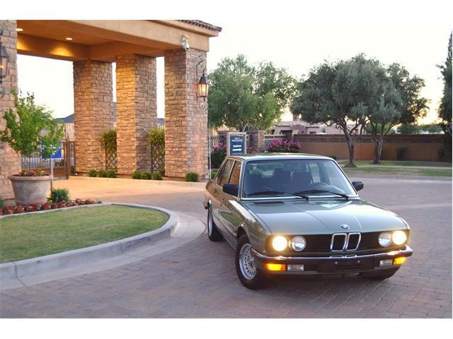 1985 BMW 5 Series (CC-1233000) for sale in Chandler , Arizona