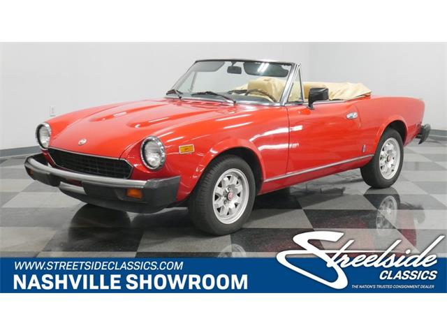 1982 Fiat Spider (CC-1233039) for sale in Lavergne, Tennessee