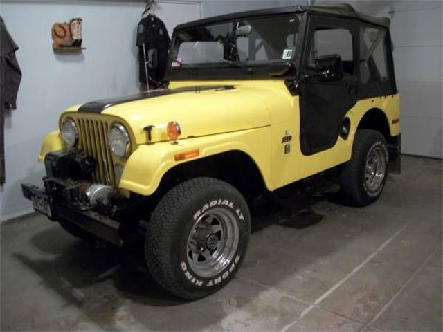 1971 Jeep CJ5 (CC-1233098) for sale in Cadillac, Michigan