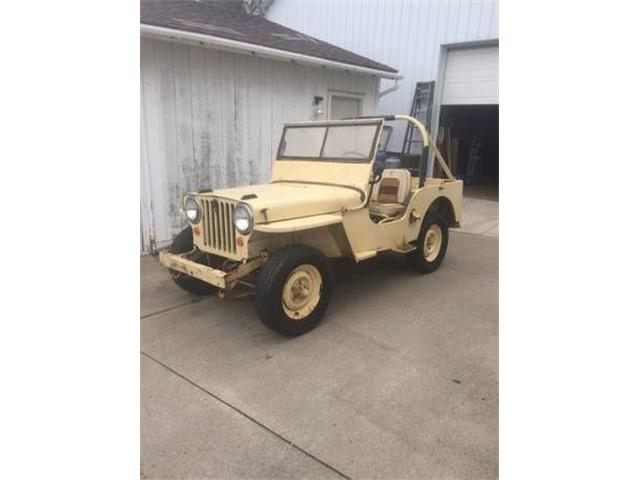 1946 Jeep CJ (CC-1233109) for sale in Cadillac, Michigan