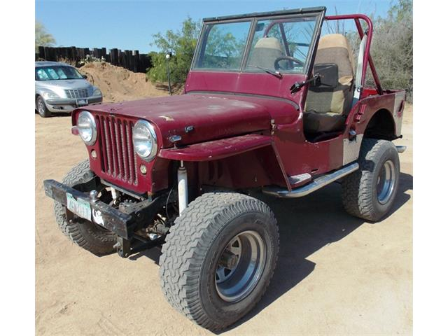 1946 Willys CJ2
