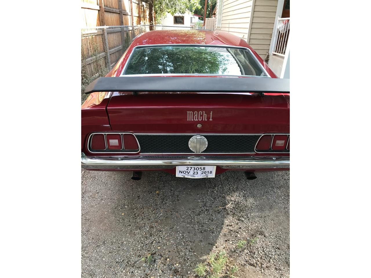 1971 Ford Mustang Mach 1 (CC-1233403) for sale in Olathe, Colorado
