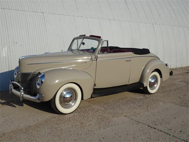 1940 Ford Cabriolet (CC-1230389) for sale in DALLAS, Texas